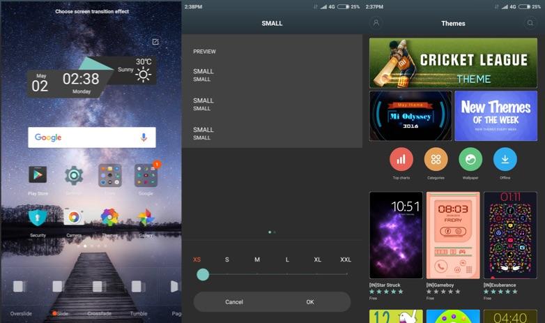 Xiaomi Redmi Note 3 Software